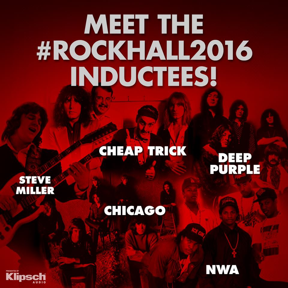 Cheap Trick: 2016 Rock and Roll Hall of Fame Inductees https://t.co/8am7Rh8DqD
