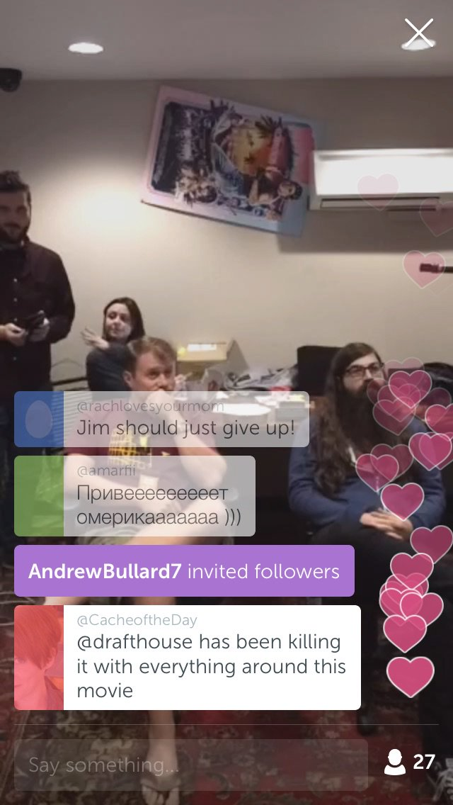 via @drafthouse's #Periscope: über #StarWars-Marathoners forced to watch the xmas special… https://t.co/sMZpIzbXCA https://t.co/Y7ZakUrD7d
