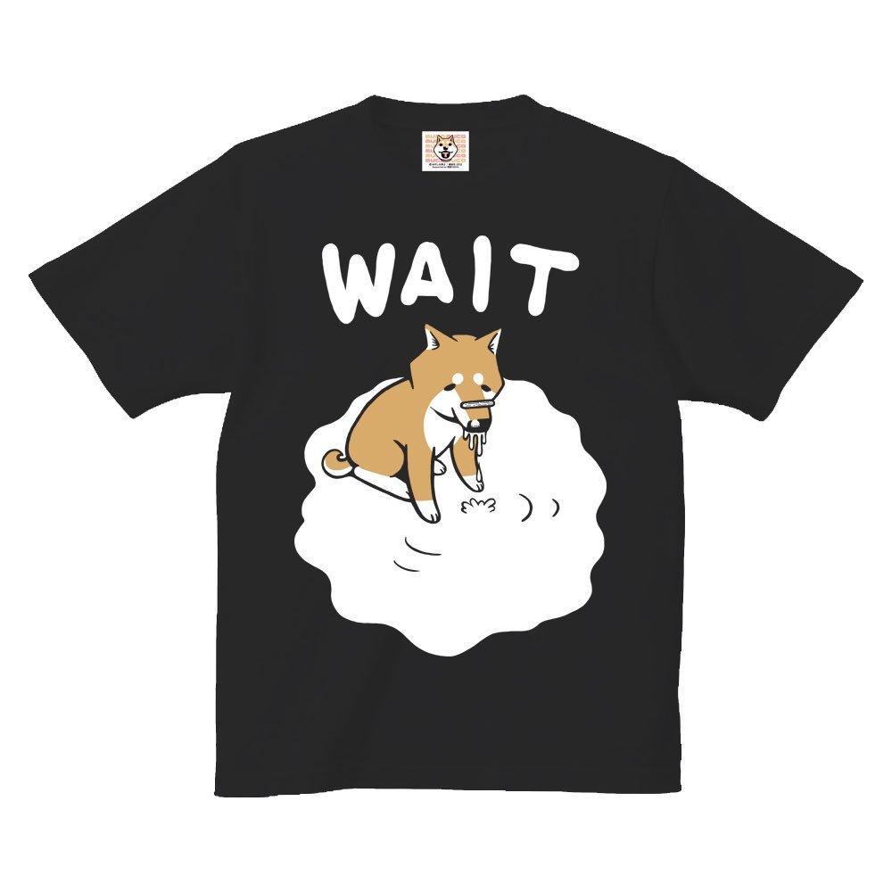 【悪意1000%Tシャツ情報】漫画「いとしのムーコ」公式Tシャツ『待てっ!』ジャーキーを鼻に乗せられて必死に耐えるムーコ