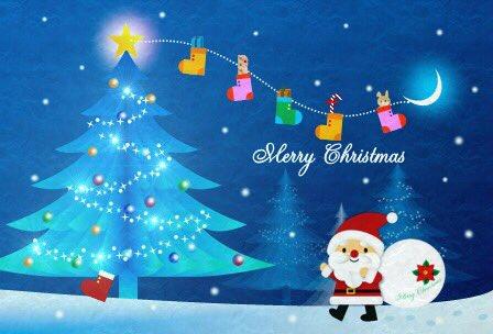 [○^艸^]Merry☆*:;;:*:;;:*☆Christmas[^艸^○] https://t.co/qz5KpznRv4