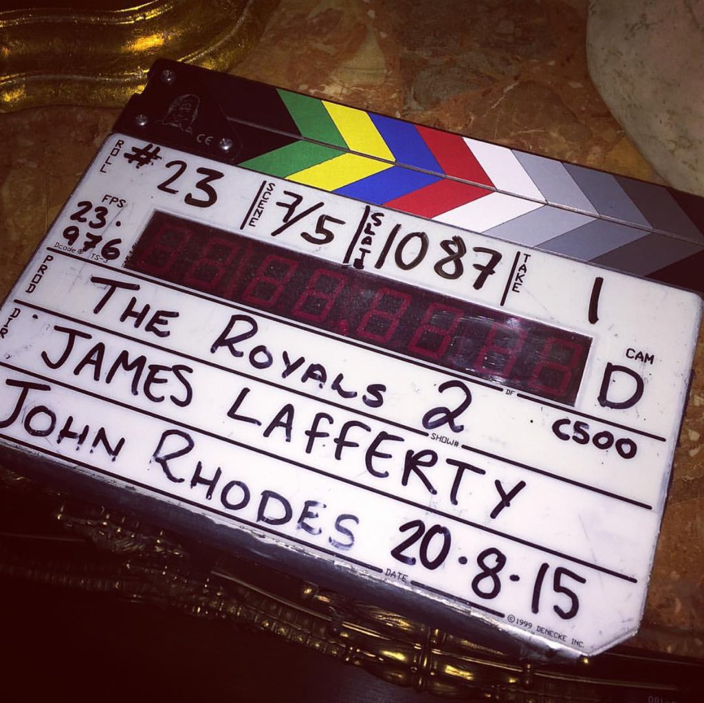 Be sure to watch TONIGHT @TheRoyalsOnE at 10/9c on E!   Episode directed by: James Lafferty @ThisIsLafferty https://t.co/WXP57YF7xB