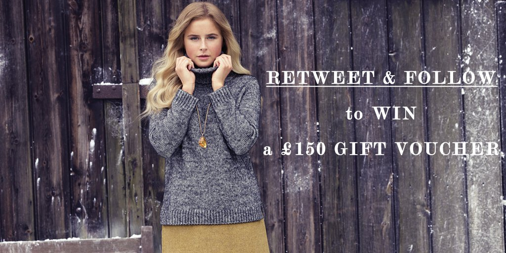 Hello #giveaway! RT & Follow for the chance to #WIN a £150 voucher to spend on our amazing Winter Sale! https://t.co/hdPl8LPeQG