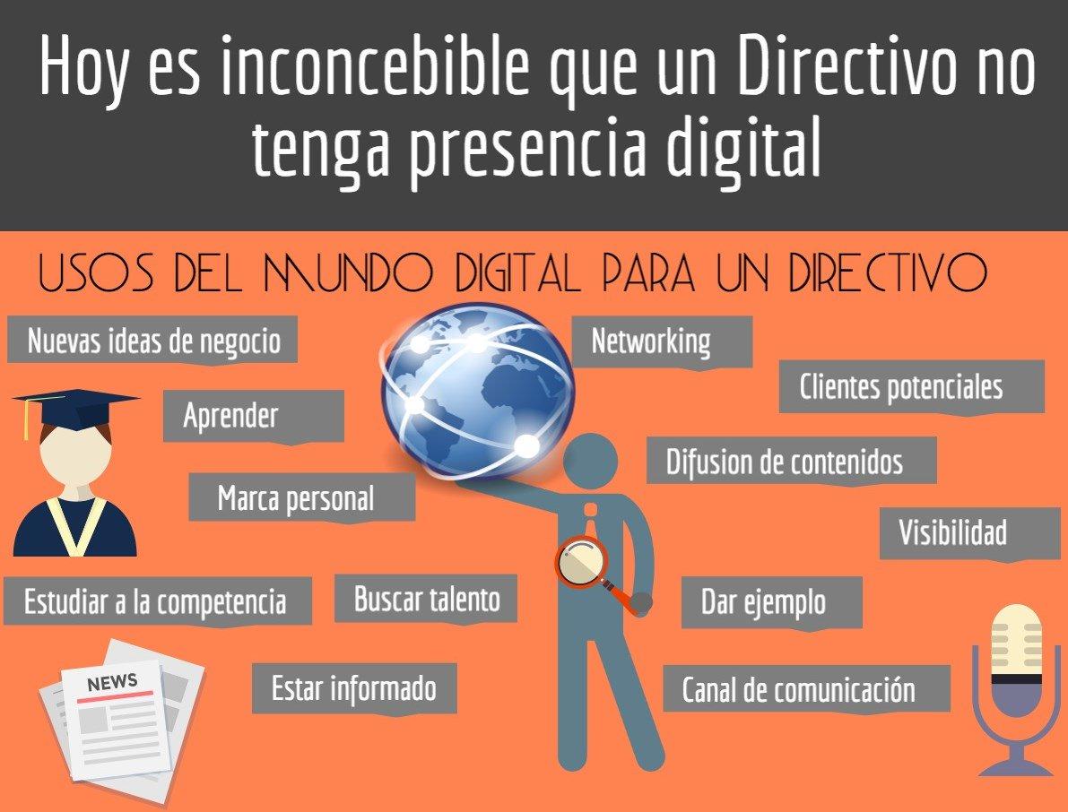 Por qué un directivo debe tener presencia digital https://t.co/WpYalqFmQC