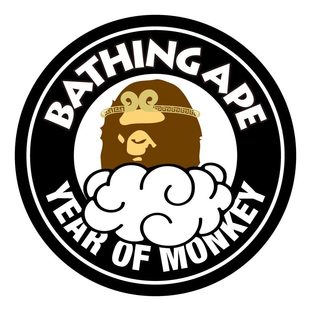 YEAR OF MONKEY #bape https://t.co/67TXZb7a8c