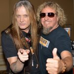RT @terraplane_108: @sebastianbach parties hard with @sammyhagar in Pasadena tonight for @AXSTV. #terraplaneimages https://t.co/jvSLjOBGUI