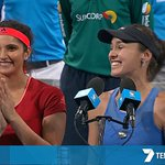 RT @7tennis: WATCH: @MirzaSania and @mhingis take out the #BrisbaneTennis Women's Doubles! > https://t.co/FsfRaTe5S9 #7Tennis https://t.co/…