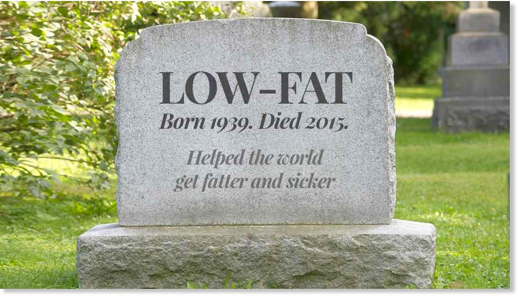 Low-fat is dead, long live saturated fats and us! https://t.co/S13on8X2i5 https://t.co/WHOPkXDCQi