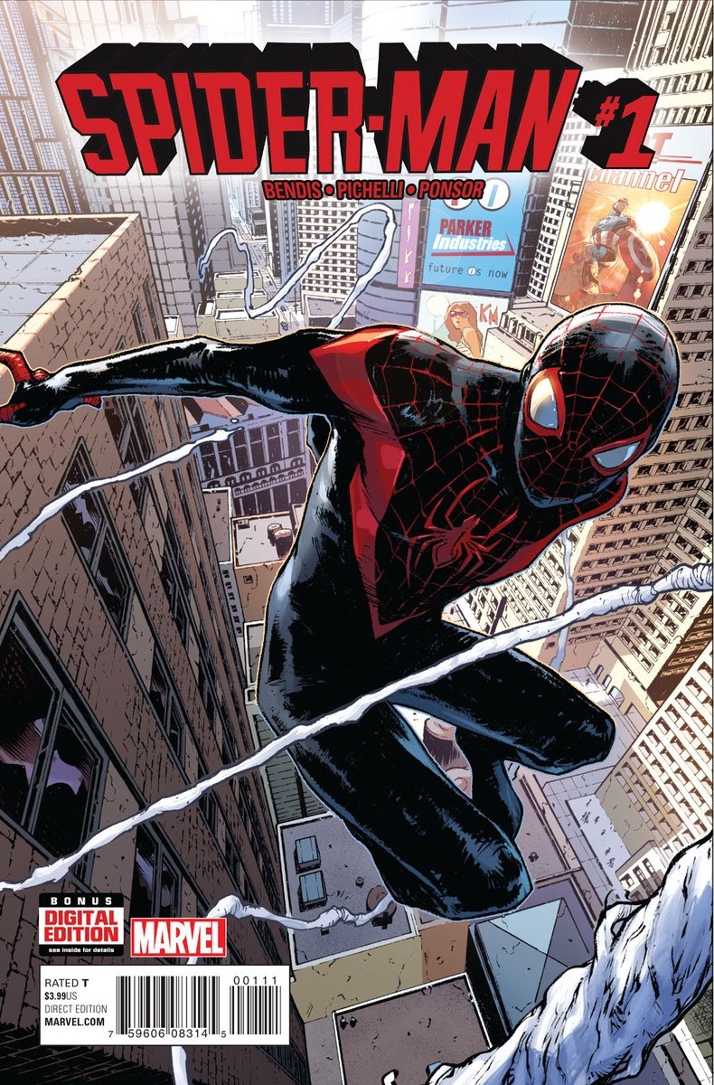 Miles Morales Comes to the Marvel Universe in Spider-Man #1 https://t.co/dzEC4fn5Vv @marvel @BRIANMBENDIS #comics https://t.co/nwbZJ3XhWu