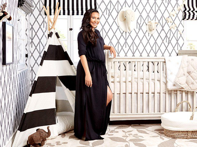 Happy birthday to the stunning, NayaRivera! Let\s take a look back at her bold nursery: