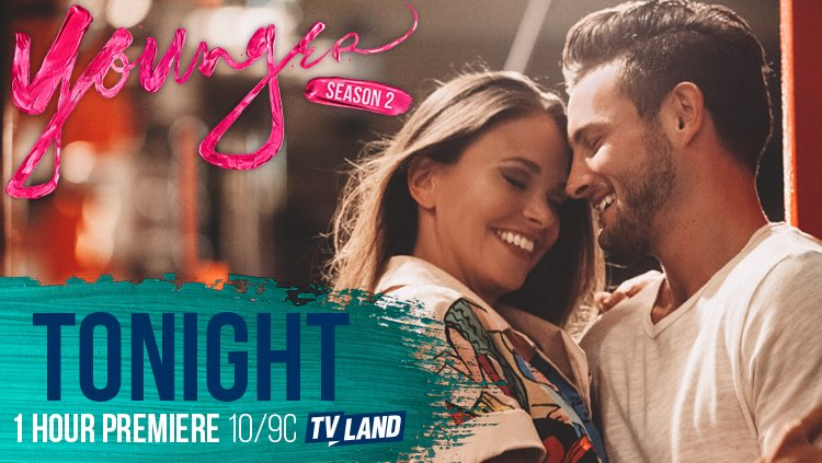 Are you still watching?? If you missed the Season 2 premiere of #YoungerTV, you can catch it again at 11:30 EST! https://t.co/7WrOebYE6k