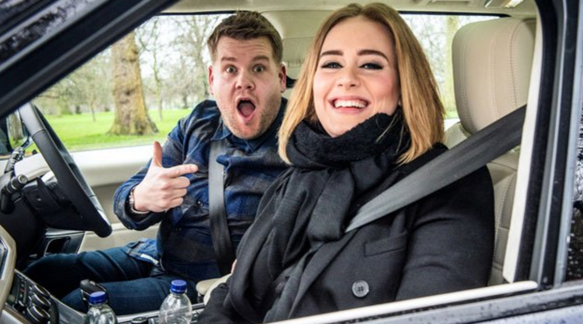RT @UnitedAgents: Is this the best ever #CarpoolKaraoke with @JKCorden and @Adele? We love it: https://t.co/mRTU5Rrg8U https://t.co/lsUDLyt…