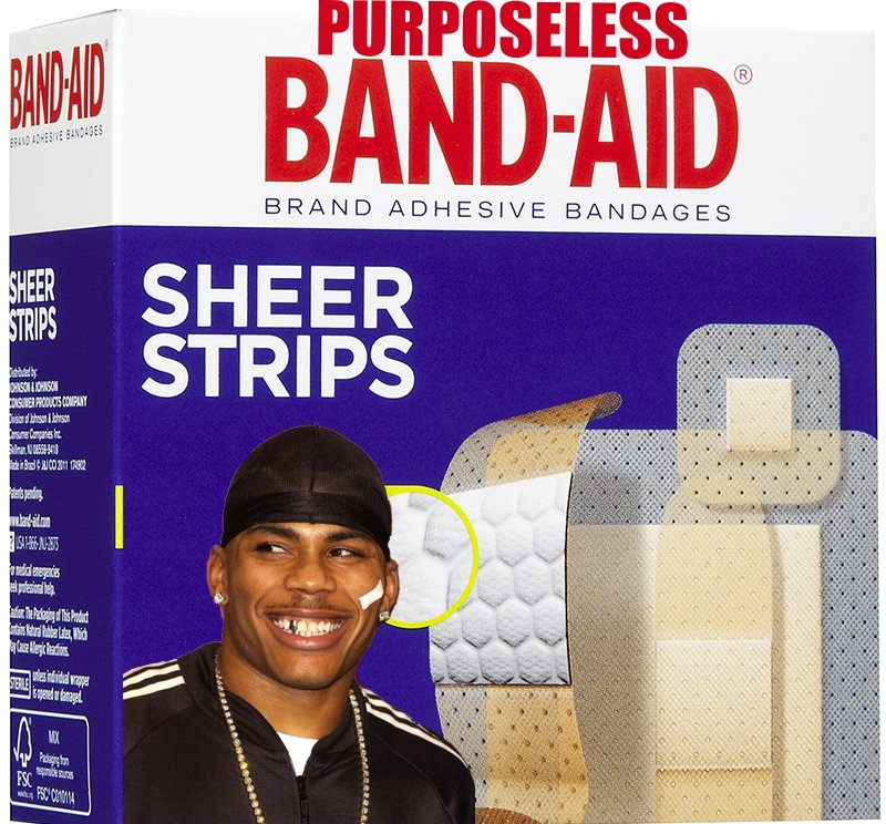 Who Invented The Band Aid >> Purposeless Band Aid Chrissyteigen Nelly Invented The