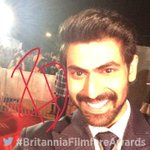 RT @filmfare: Baahubali @RanaDaggubati is all smiles on the #BritanniaFilmfareAwards red carpet. https://t.co/KluQjSKnB2