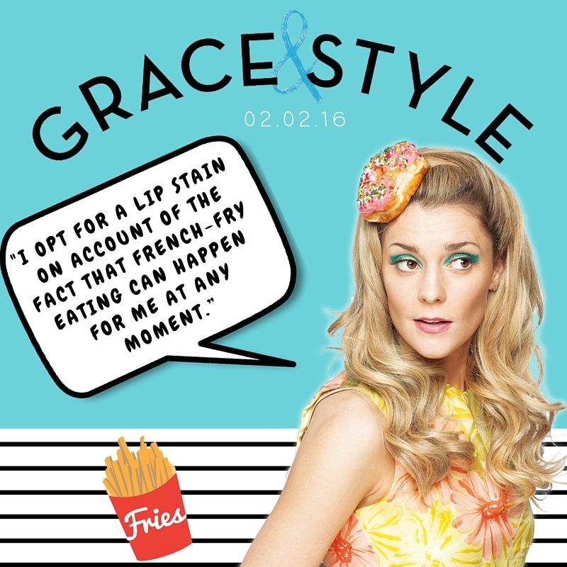 ICYMI, we're celebrating @gracehelbig's #GraceandStyle with Instagram giveaways! https://t.co/UpKfSsoSW1 https://t.co/diDGPPLul8