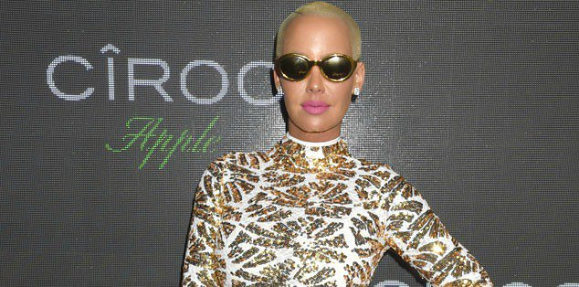 In a powerful op-ed, Amber Rose reveals she no longer cares if you call her a
