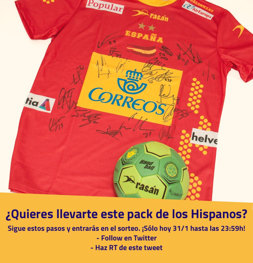¡Última llamada para los seguidores de los #Hispanos! Sigue los pasos de la foto y hazte con un pack oficial ;) https://t.co/UXsd18WLYq