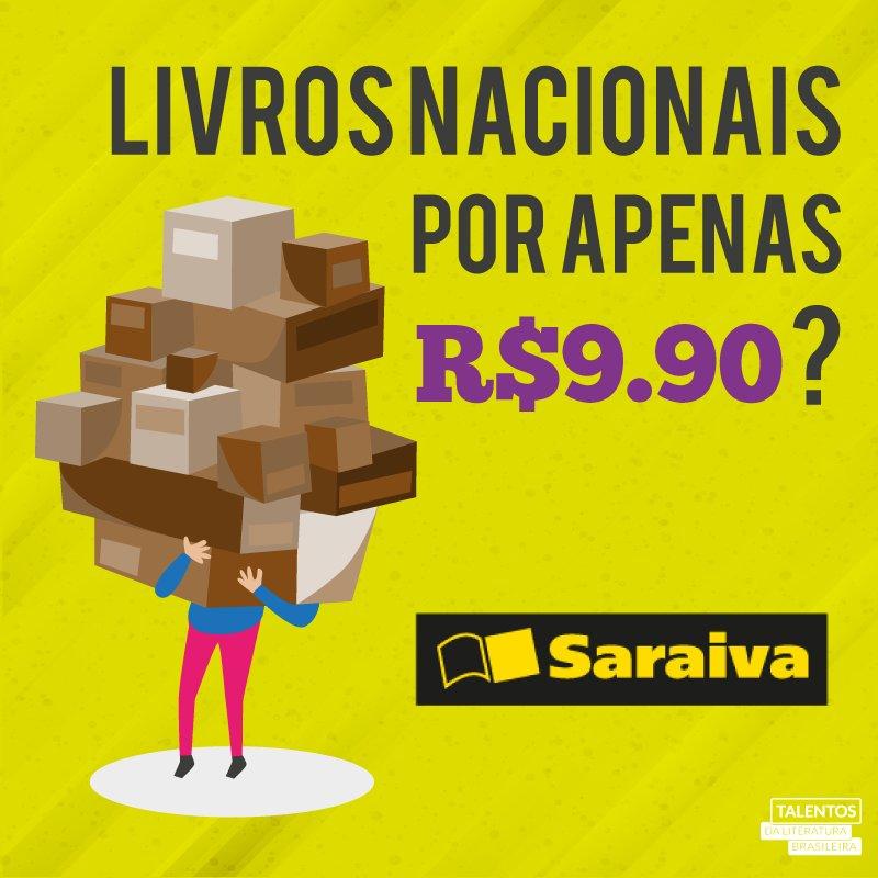 Acesse o site @Saraiva e confira nossa Estante com livros por R$9,90! https://t.co/rlTLcpw4hj https://t.co/acwwwQdXyI