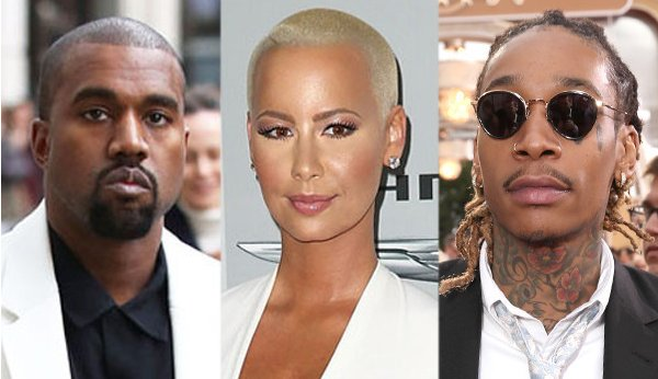 Amber Rose says she was never in love with Kanye West.