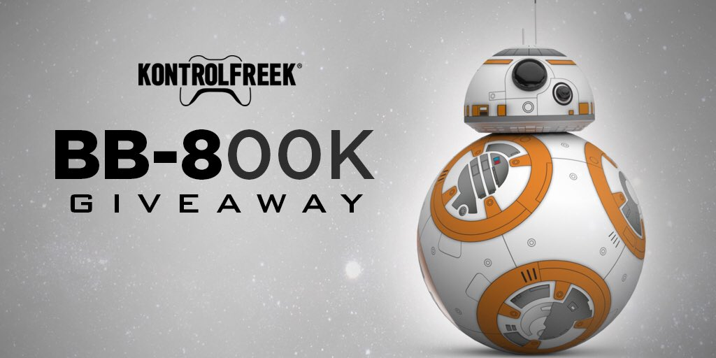 Thanks to you #FreekNation, we reached 800k!   RT & Like for a chance to win a Sphero BB-8