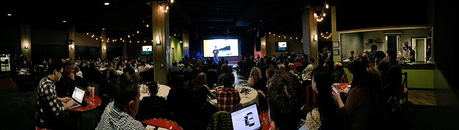 What an AWESOME turnout for #SLCSEM tonight. Thanks to everyone for coming out for @larrykim & @robert_brady! https://t.co/uXlDLcXv1e