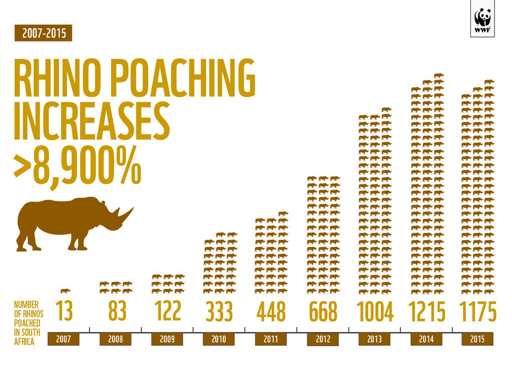 RT @World_Wildlife: Alarming rhino poaching rates reported in Southern Africa: https://t.co/AgUbcvIAqE https://t.co/5nlNpG055G