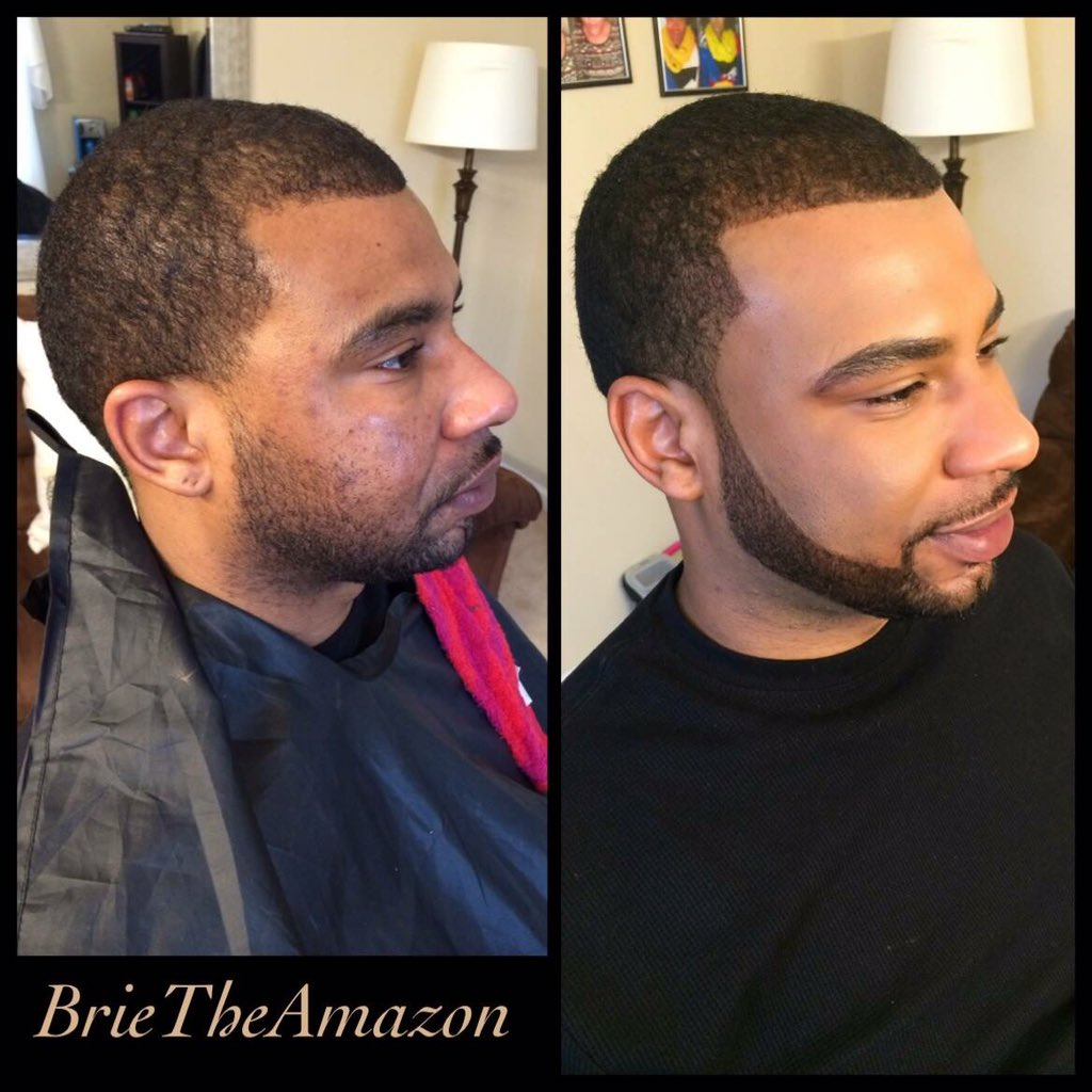 Before and After Men's makeup.. Fellas y'all can wear it too https://t.co/x48aaUMQNS