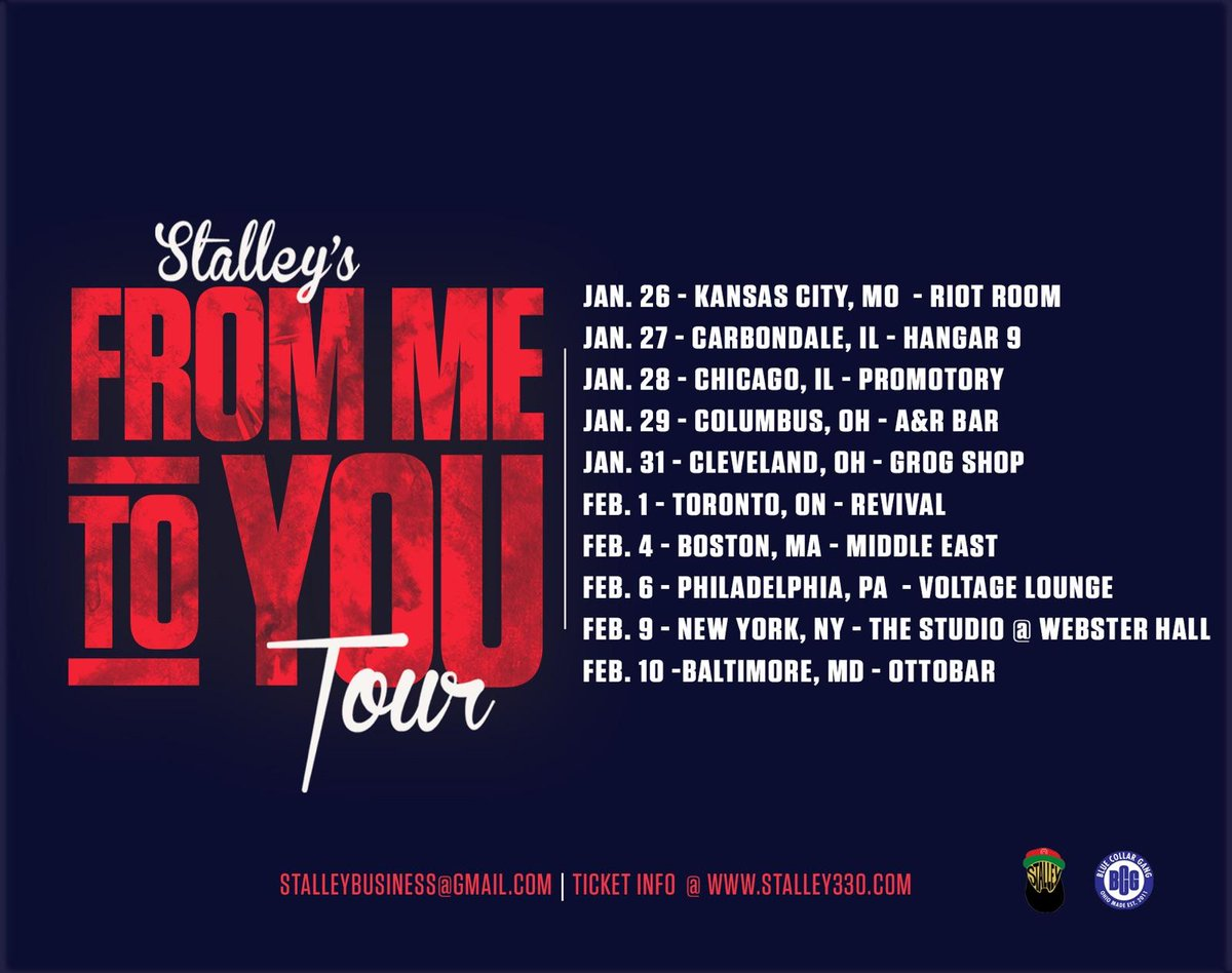 New York ready for @Stalley #FromMeToYouTour February 9th https://t.co/Dy4XbNaoID