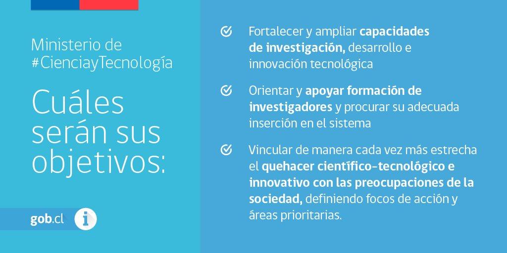 Ministerio de ciencia y tecnolog a conoce los aspectos for Ministerio de ciencia