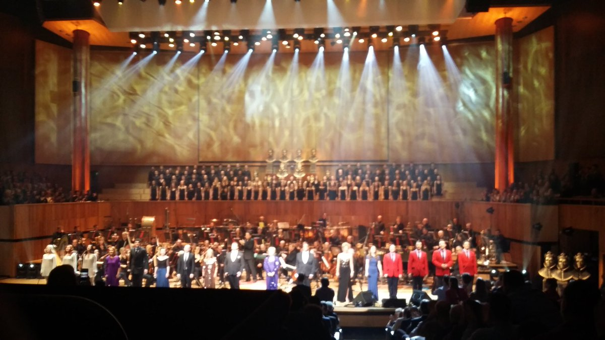 A final bow at #OliviersInConcert. What a night. Thank you to everyone involved