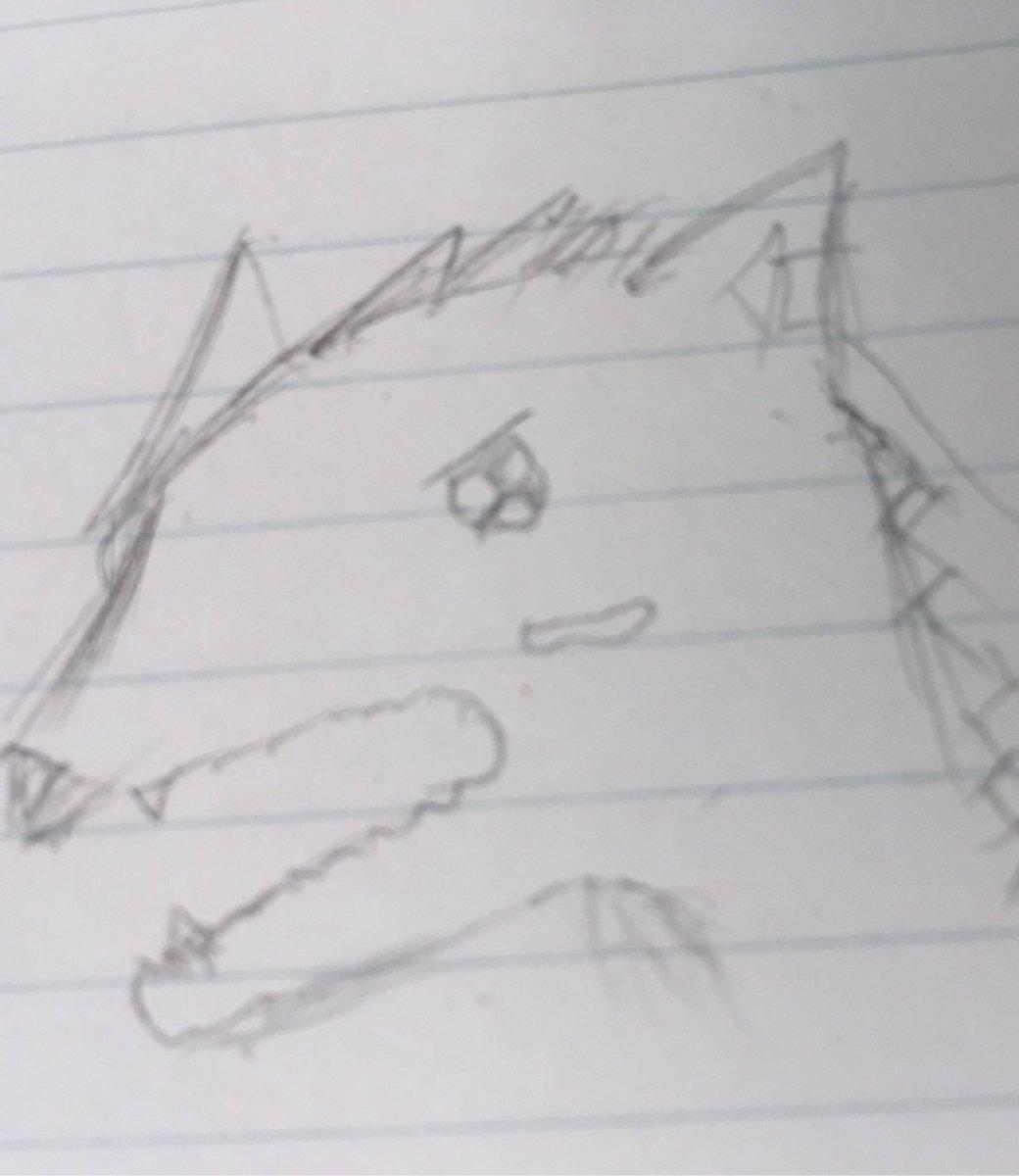 バケモノの子の二郎丸を描いた…
