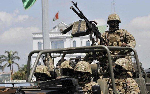 Heavy gunfire as mutiny spreads in Ivory Coast