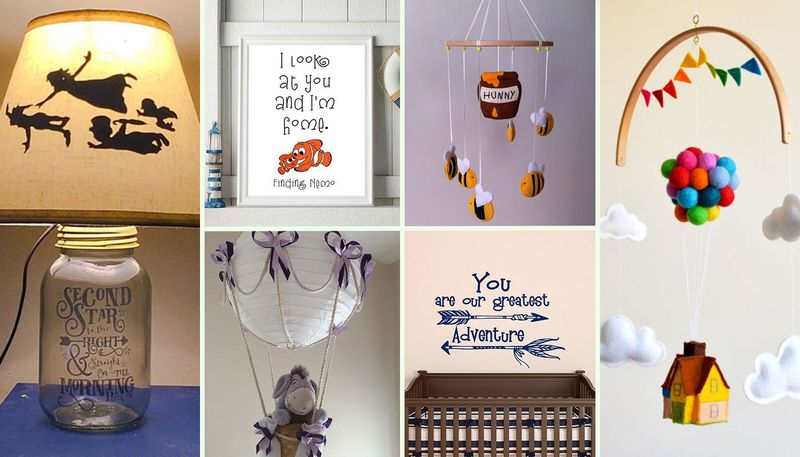 Fancy giving your baby a truly magical nursery? Check out these Disney-inspired ideas…