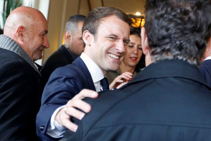 Macron stretches his lead in an election race that has turned French politics upside down: