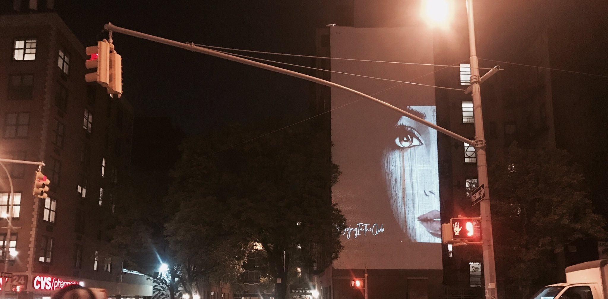 We see you, NYC!!! #CryingInTheClubFriday https://t.co/pI3yafiQ0V