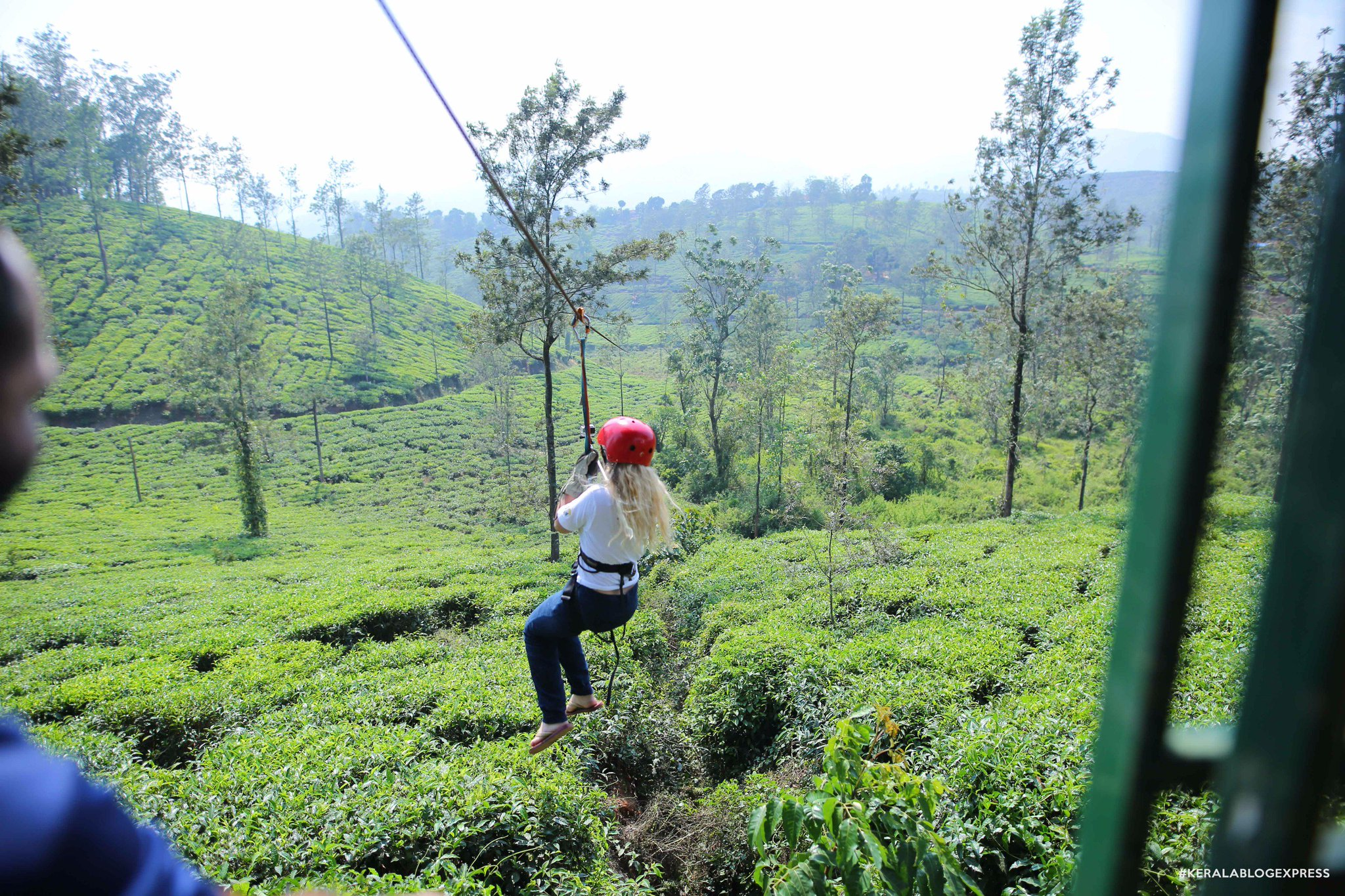 Zipline your way through the tea plantations of #Wayanad. The bloggers highly recommend it :)  #keralablogexpress #muddyboots #pozhuthana https://t.co/2VMvRtUSo5