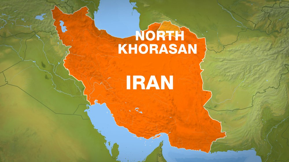 A 5.7-magnitude earthquake hit Iran's North Khorasan province with 2 killed and 370 injured