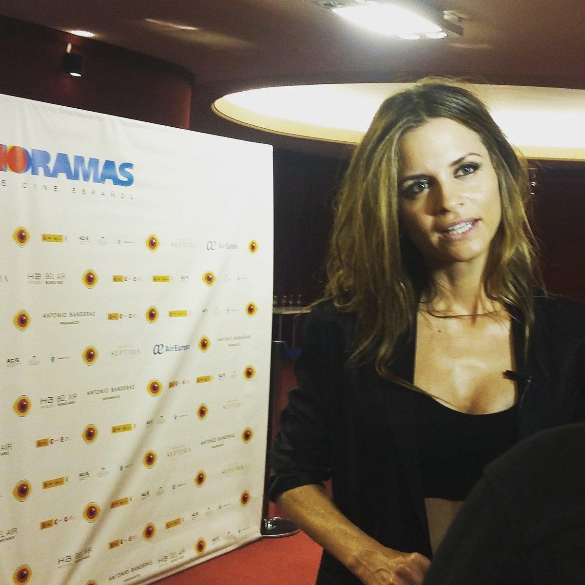 Inauguramos #Espanoramas con @PaulaCancio3 en el #cine #Gaumont @espaciosincaa https://t.co/lcfqfSFe9n