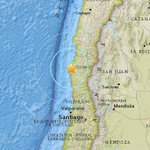 Centro Sismológico Nacional de Chile ajusta magnitud del sismo a 6,6 https://t.co/UlIo9Qlc4A https://t.co/kKo05dhHYS