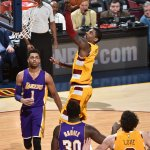 The @cavs defeat the @Lakers 120-111. Irving 35 & 7, James 29-11-7. Williams 28 for LAL. #LALatCLE #NBAonESPN https://t.co/a03SF4kv4j