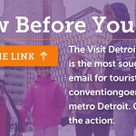 Cool #thingstodo in #Detroit in your inbox. BAM! Sign up (@ right pane): https://t.co/IlPKgvOf24 https://t.co/canMtEgLvm