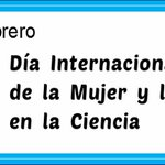 "Hoy, 11 febrero, es el ""Día Internacional de la Mujer y la Niña en la #Ciencia"" https://t.co/bgoZvXSZxq #WomenInSTEM https://t.co/kCwX6oPDqm"