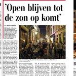 Den Haag mag meer bruisen! Vandaag pleiten wij met @HSPDenHaag @RicharddeMos voor ruimere openingstijden horeca: https://t.co/pEaPDbqtvJ