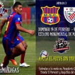 #Apertura2016 | J3 | Monagas SC - Estudiantes | Domingo 14/02 | Monumental | 4:00 pm | Bs. 500 y 200. #VamosMonagas https://t.co/DGzzJp9OwB