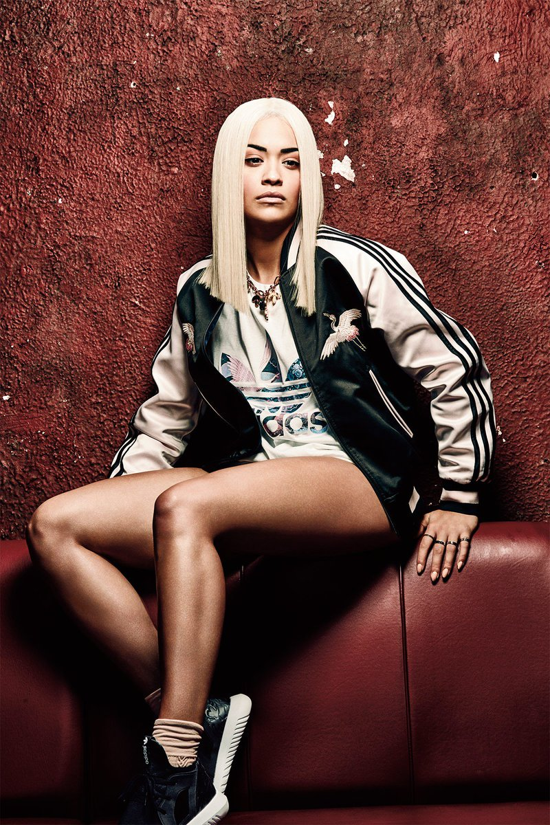 RT @GlamourMagUK: So @RitaOra has designed a seriously lust-worthy bomber jacket for @adidas: https://t.co/4lrhcji4kf https://t.co/KUQkbX73…