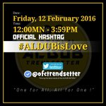ALDUB is LOVE! Alam na this. Spread the love po. OHT: #ALDUBisLove https://t.co/tpr43EFE2N