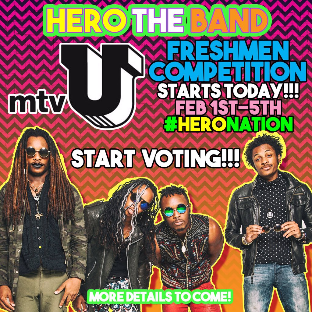 DAY 2 has begun keep voting hero nation and we thank you all for the support thus far