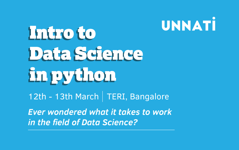Workshop for getting started with data science in Python  https://t.co/WYchMaLZdc  Tickets: https://t.co/1XfQxygg0T https://t.co/EoxMOgO8vX