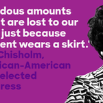 In 1968, Shirley Chisholm became the first African American woman elected to Congress. #BlackHistoryMonth https://t.co/wOmHRbORpw