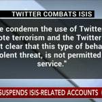 JUST IN: @Twitter announces its suspending 125,000 ISIS-related accounts https://t.co/4ghd3vyTvD - @CBSNLive https://t.co/2JKNPMz2wg