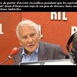 """""""Je refuse de parler d'accent circonflexe pendant que les agriculteurs se suicident"""" Jean d'Ormesson https://t.co/p3brexToV4"""